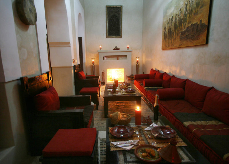 riad marrakech alili salon