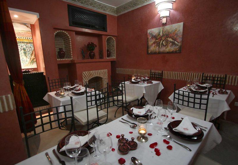 restaurant RIAD ALILI MARRAKECH