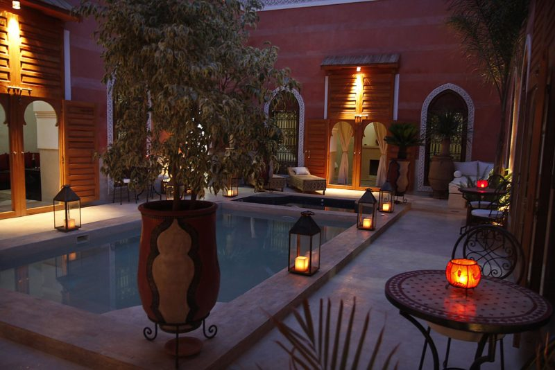 piscine riad alili marrakech